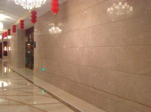 portuguese stone, moca stone, moca stone limestone, stone project, own quarry, stone hotel, Moca Classic, Shopping Center, Xangai, China