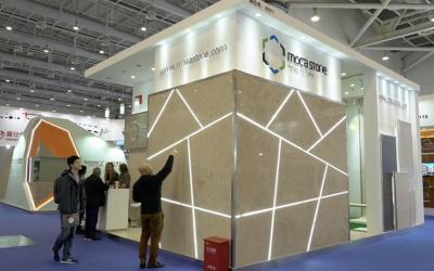 Vídeo: Moca Stone na Xiamen International Stone Fair