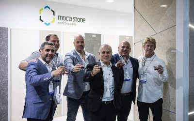 Coverings 2018: um brinde à Moca Stone!
