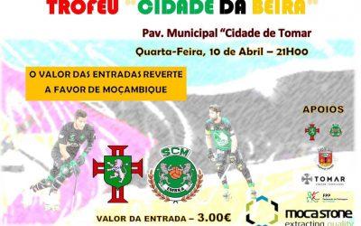Moca Stone no Jogo Solidário para o Trofeu Cidade da Beira