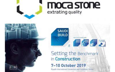 Moca Stone marca presença na Saudi Build 2019