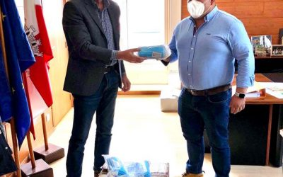 Covid-19: MocaStone delivers 1000 masks for Civil Protection