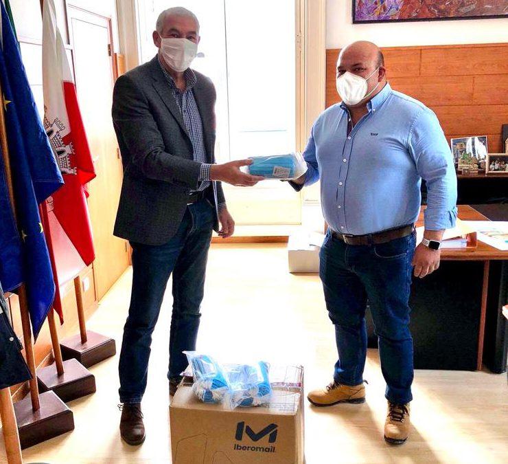 Covid-19: MocaStone entrega 1000 máscaras para Protecção Civil