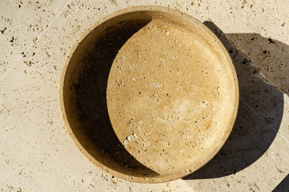 essenzia, stone design, essenzia bowl, artisan, stone piece